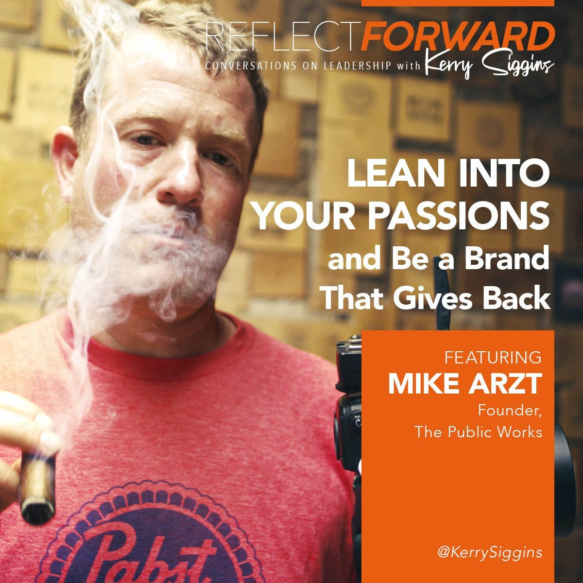 Lean into your passions and be a brand that gives back