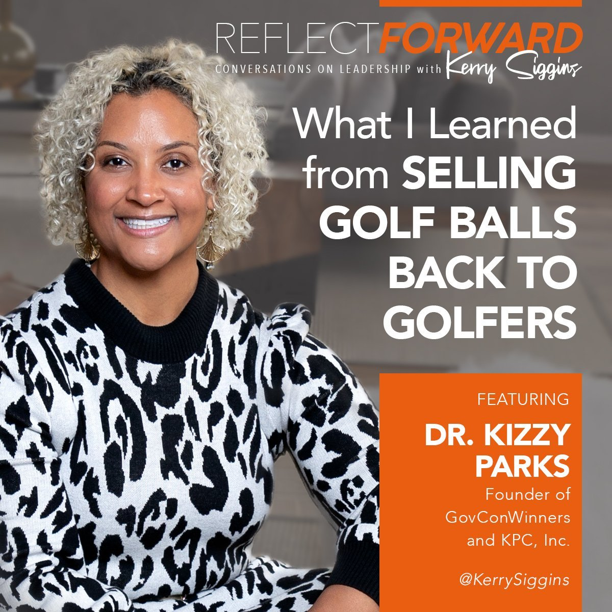 Kizzy Parks What I learned selling golf balls to golfers