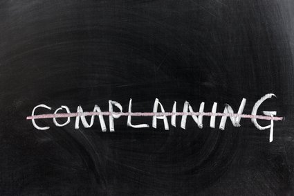 ​THE 31 DAY 'STOP COMPLAINING' CHALLENGE