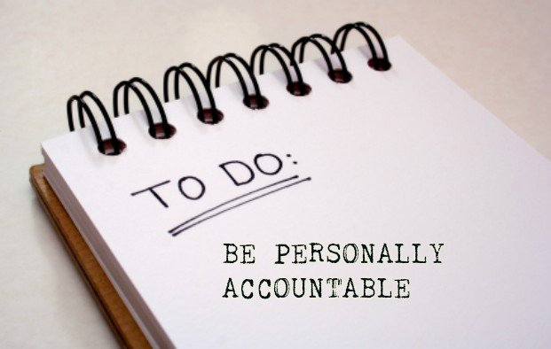 HOW TO BE PERSONALLY ACCOUNTABLE