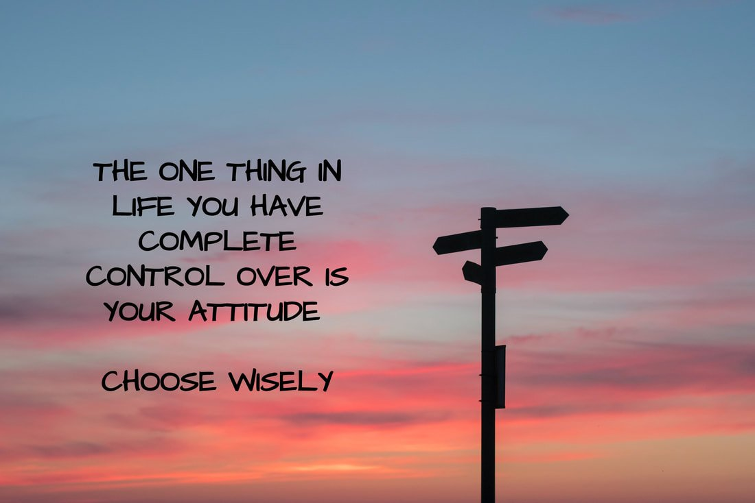 HAVE A POSITIVE ATTITUDE FOR A BETTER DAY