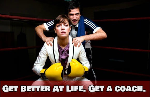 GET A COACH TO IMPROVE YOUR LIFE