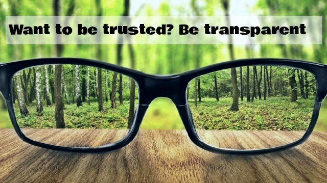 BUILDING A HIGH PERFORMANCE ORGANIZATION? BE MORE TRANSPARENT